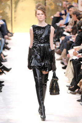 Louis Vuitton F/W'09 - Irina Kulikova