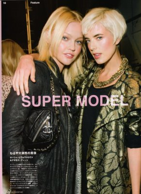 Fasiion News PERFECT 2009 S/S - Sasha Pivovarova & Agyness Deyn