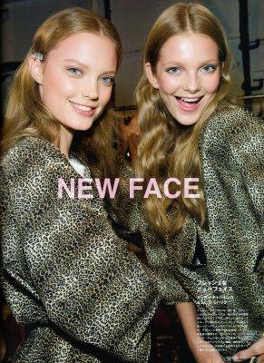 Fasiion News PERFECT 2009 S/S - Natalia Chabanenko & Eniko Mihalik