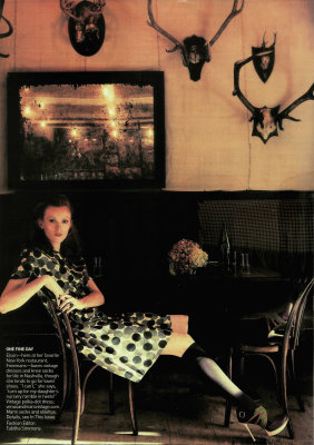 VOGUE May 2009 - Karen Elson