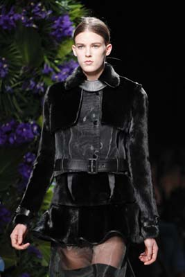 Givenchy F/W 2011 - Colinne Michaelis