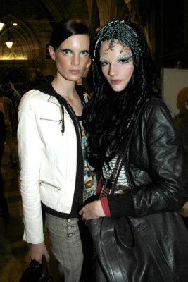 Life Ball 2009 - Iris Strubegger & Dorothea Barth Jorgensen