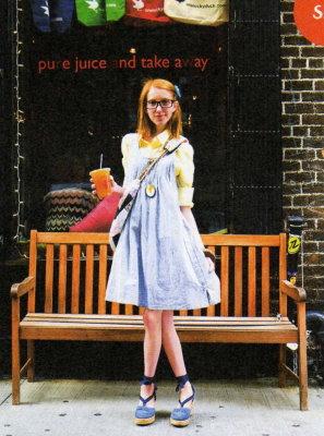 GINZA July 2009 - Julia Frakes