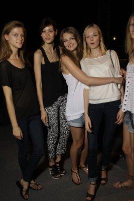 Boss Orange S/S 2010 - Kasia Struss,Shelia Marques,Eniko Mihalik,Siri Tollerod,Toni Garrn