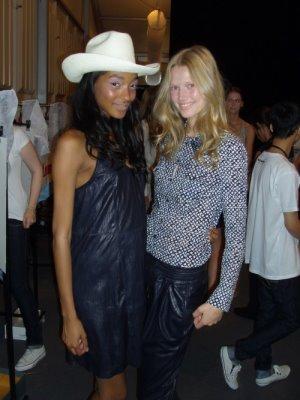 Strenesse Blue S/S 2010 - Jourdan Dunn & Toni Garrn