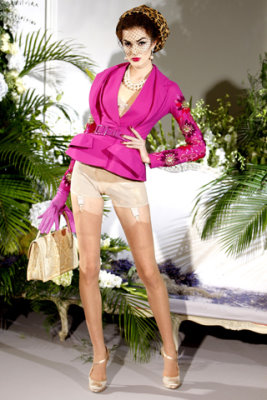 Christian Dior Haute Couture F/W 09.10 - Thana Khunen