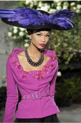 Christian Dior Haute Couture F/W 09.10 - Chanel Iman