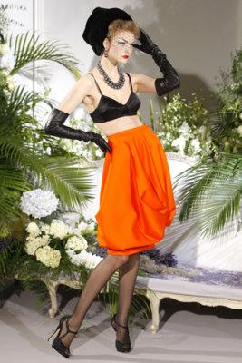Christian Dior Haute Couture F/W 09.10 - Caroline Trentini