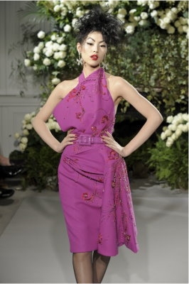 Christian Dior Haute Couture F/W 09.10 - Liu Wen