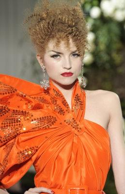 Christian Dior Haute Couture F/W 09.10 - Anabela Belikova