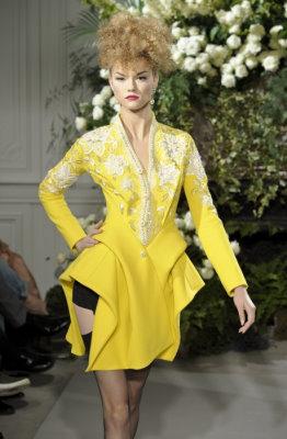 Christian Dior Haute Couture F/W 09.10 - Kasia Struss