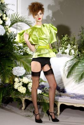 Christian Dior Haute Couture F/W 09.10 - Denisa Dvorakova
