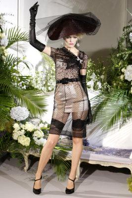 Christian Dior Haute Couture F/W 09.10 - Heidi Mount