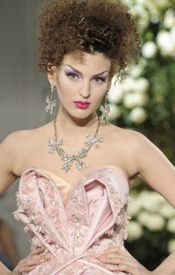 Christian Dior Haute Couture F/W 09.10 - Georgina Stojiljkovic