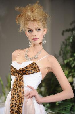 Christian Dior Haute Couture F/W 09.10 - Tanya Dziahileva