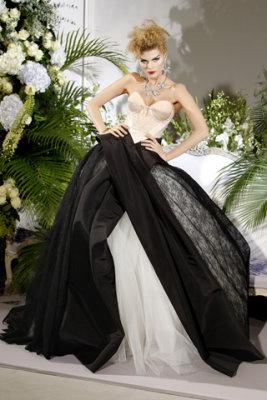 Christian Dior Haute Couture F/W 09.10 - Maryna Linchuk
