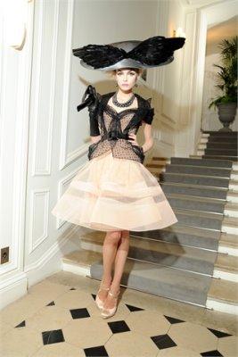 Christian Dior Haute Couture F/W 09.10 - Siri Tollerod
