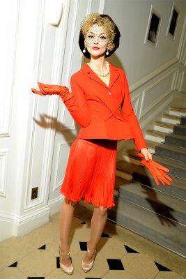 Christian Dior Haute Couture F/W 09.10 - Sasha Pivovarova