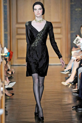 Christian Lacroix Haute Couture F/W 09.10 - Gwen Loos
