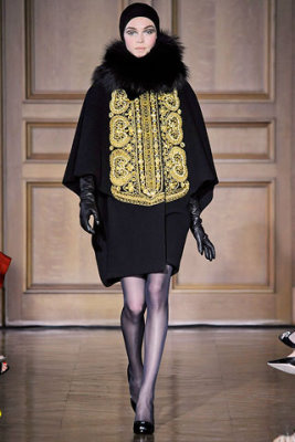 Christian Lacroix Haute Couture F/W 09.10 - Siri Tollerod