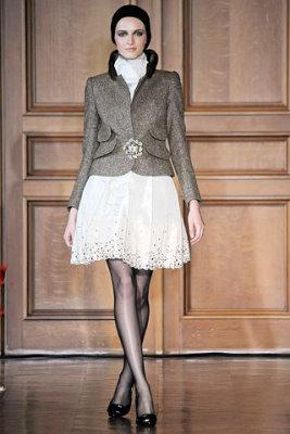 Christian Lacroix Haute Couture F/W 09.10 - Daria Strokous
