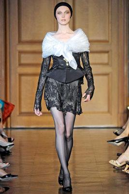 Christian Lacroix Haute Couture F/W 09.10 - Olga Sherer