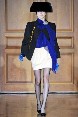 Christian Lacroix Haute Couture F/W 09.10 - Kori Richardson
