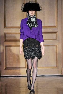 Christian Lacroix Haute Couture F/W 09.10 - Hanna Rundlof