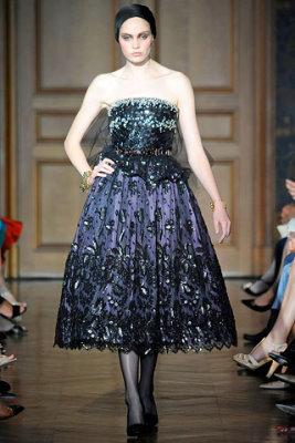 Christian Lacroix Haute Couture F/W 09.10 - Heidi Mount