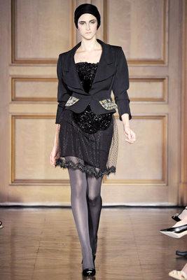 Christian Lacroix Haute Couture F/W 09.10 - Daiane Conterato