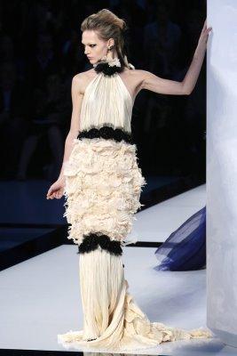 Chanel Haute Couture F/W 09.10 - Sasha Pivovarova
