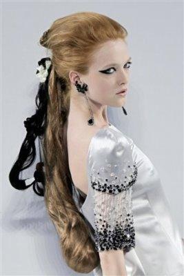 Chanel Haute Couture F/W 09.10 - Vlada Roslyakova