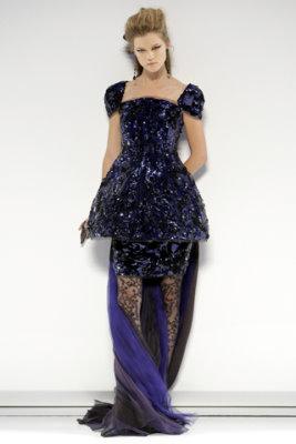 Chanel Haute Couture F/W 09.10 - Kasia Struss