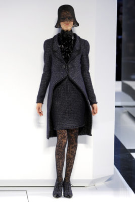 Chanel Haute Couture F/W 09.10 - Freja Beha Erichsen