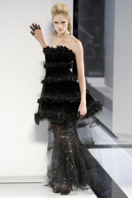 Chanel Haute Couture F/W 09.10 - Heidi Mount