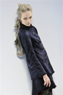 Chanel Haute Couture F/W 09.10 - Siri Tollerod