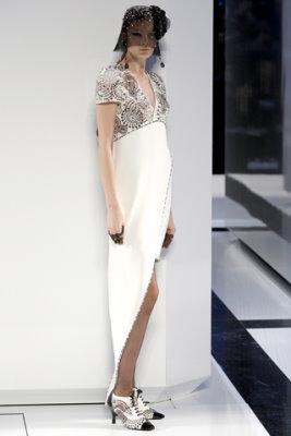 Chanel Haute Couture F/W 09.10 - Irina Kulikova