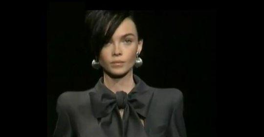 Armani Prive Haute Couture F/W 09.10 - Siri Tollerod