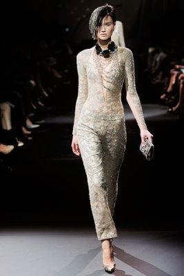 Armani Prive Haute Couture F/W 09.10 - Toni Garrn