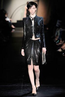 Armani Prive Haute Couture F/W 09.10 - Skye Stracke