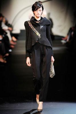 Armani Prive Haute Couture F/W 09.10 - Vlada Roslyakova