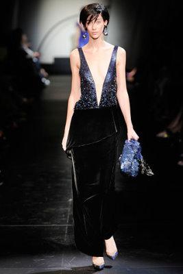 Armani Prive Haute Couture F/W 09.10 - Alana Zimmer
