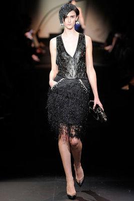 Armani Prive Haute Couture F/W 09.10 - Daiane Conterato