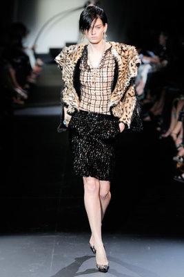 Armani Prive Haute Couture F/W 09.10 - Heidi Mount