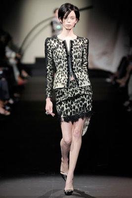 Armani Prive Haute Couture F/W 09.10 - Tanya Dziahileva