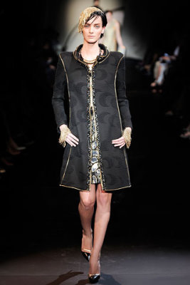 Armani Prive Haute Couture F/W 09.10 - Denisa Dvorakova