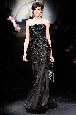 Armani Prive Haute Couture F/W 09.10 - Snejana Onopka
