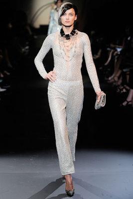 Armani Prive Haute Couture F/W 09.10 - Karmen Pedaru