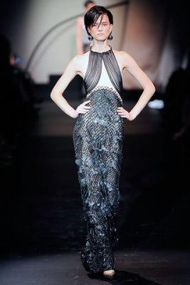 Armani Prive Haute Couture F/W 09.10 - Kasia Struss