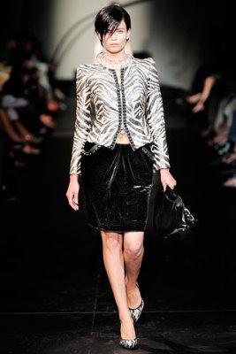 Armani Prive Haute Couture F/W 09.10 - Natasha Poly